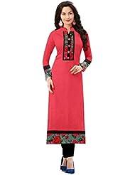 Denim Sulitical Women's Dress (DSAT310_Free Size_Navy Blue)