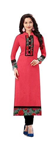Denim-Sulitical-Womens-Georgette-Pink-Salwar-suit-Dress-Material-DSAT328