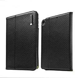 Capdase Folio Dot Flip Leather Case / Cover for Apple iPad Air - Black (FCAPIPAD5-3011)