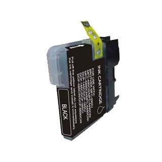 Brother LC980BK / LC1100BK (LC61) - Schwarz Kompatible Drucker-Tintenpatrone für Brother DCP-145C DCP-163C DCP-165C DCP-167C DCP-195C DCP-197c DCP-365CN DCP-373CW DCP-375CW DCP-377CW / MFC-250C MFC -255CW MFC-290C MFC-295CN MFC-297C MFC-490CN-MFC-490CW MFC-5490CN MFC-5890CN MFC-6490CN MFC-670CD-MFC-670CDW MFC-790CW MFC-930CDN MFC-930CDWN MFC-990CW