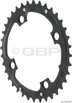 TruVativ 36T x 104mm Aluminum Chainring Black