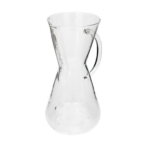 Chemex 3-Cup Coffeemaker With Glass Handle Style: With Handle Size: 3-Cup Home & Kitchen front-486186