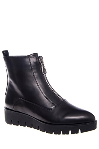 Terry Platform Zip Up Bootie