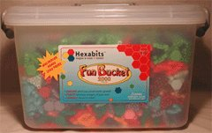 Buy Hexabits Fun Bucket (2250 Piece Set)