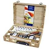 Winsor & Newton Artists' Oil Colour Bamboo Box