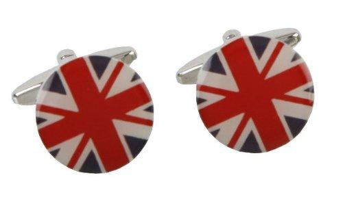 Union Jack Flag UK British Britain Cufflinks Cuff Links