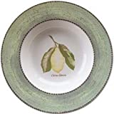 "Wedgwood Sarah's Garden Soup Plates 8.5"" Green (Set of 4)"