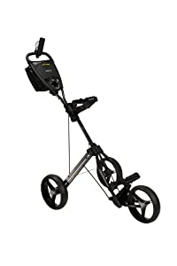 Bag Boy Express Auto Push Cart, Black