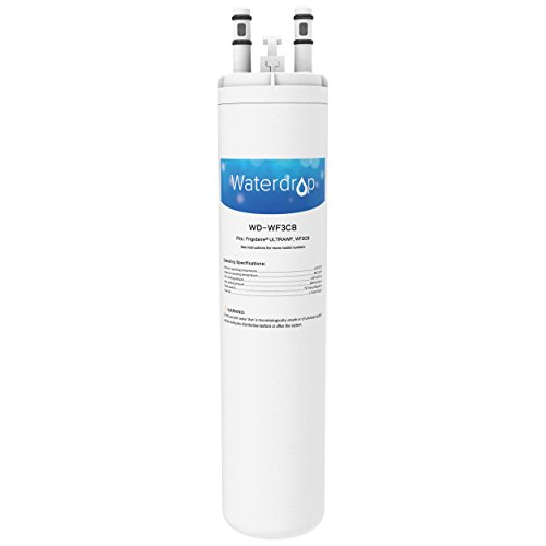 Waterdrop Refrigerator Water Filter Replacement for Frigidaire WF3CB, Kenmore 46-9999, 1 Pack (Water Filter Wf3cb Pure Source 3 compare prices)