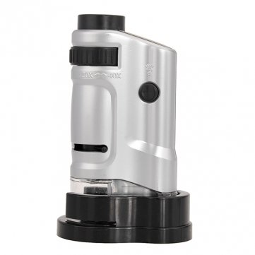 20X-40X Zoom Led Mini Pocket Microscope Magnifier Mg10081-8