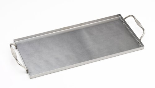 Bull 24147 Stainless Plank Saver With Side Handles