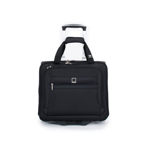 Delsey Luggage Helium Hyperlite Spinner Trolley Tote, Black, One Size (Spinner Trolley Tote compare prices)