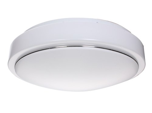 Lighting EVER 26 Watt Flush Mount LED Ceiling Light Fixture, 50W Fluorescent Replacement, 320mm Diameter, Daylight White