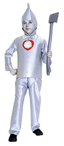 Tin Man Child Costume Size 4-6 Small