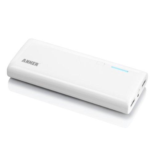 Anker Astro M3 13000mAh モバイルバッテリー 大容量かつコンパクト 14.6 x 5.9 x 1.55cm iPhone5 iPhone4S iPad iPod Galaxy Xperia Android 各種スマホ wifiルータ等対応日本語説明書付き (lightningケーブルが付属しておりません)
