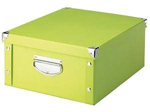 Zeller 17817 Storage Box Paperboard / 40 x 33 x 17 Green