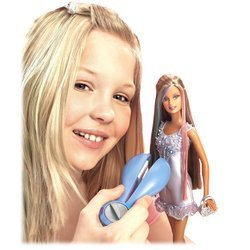 Barbie Fashion Fever Hair Highlights Doll with Blue Dress - Buy Barbie Fashion Fever Hair Highlights Doll with Blue Dress - Purchase Barbie Fashion Fever Hair Highlights Doll with Blue Dress (Mattel, Toys & Games,Categories,Dolls,Baby Dolls)