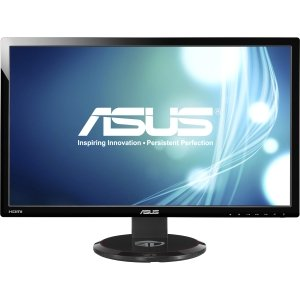 """Asus - Display Asus Vg278He 27"""" 3D Ready Lcd Monitor - 16:9 - 2 Ms. 27In 3D-Ready Monitor Incredible 144Hz Refresh Rate. Adjustable Display Angle - 1920 X 1080 - 16.7 Million Colors - 300 Nit - 50,000,000:1 - Speakers - Dvi - Hdmi - Vga - Black - Weee, Er"""