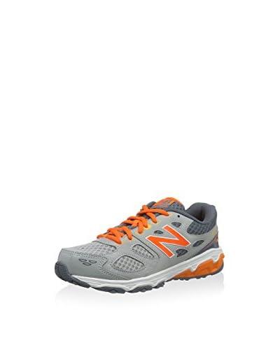 New Balance Sneaker KR680OGY [Grigio/Arancione]