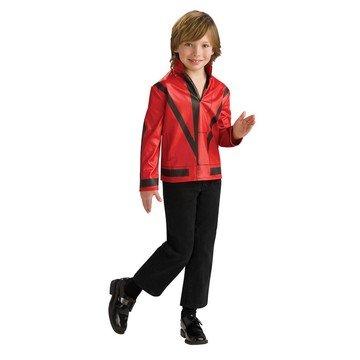 [Thriller Red Jacket Costume - Medium] (Thriller Costume Jacket)