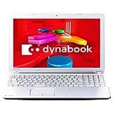 東芝 dynabook T453/33JW [Office付き] PT45333JSWW (2013年モデル・ホワイト)