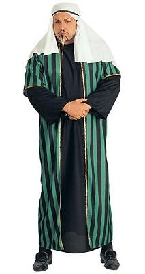 Arab Sheik Men's Costume Adult Halloween Outfit