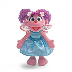 9 Inch Abby Cadabby Bendable Poseable Plush Sesame Street Stuffed Doll by Gund