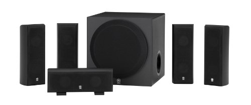 Yamaha ns sp3800 home theater speaker system black for Yamaha surround system review