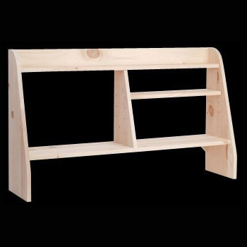 Buy Low Price Comfortable Computer Desks Unfinished Pine, Computer Shelf Kit Pine Natural 44in. W x 26in. H (B002O2DOCI)