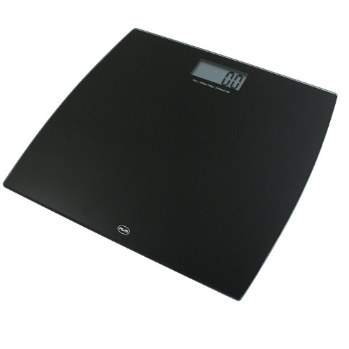 Cheap Bathroom Scale with Black Tempered Glass Platform -by American Weigh Scales? (B005OMRTJO)
