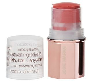 Image of Josie Maran Argan Oil Lip & Cheek Color Stick Travel Size in Pink Peony .21