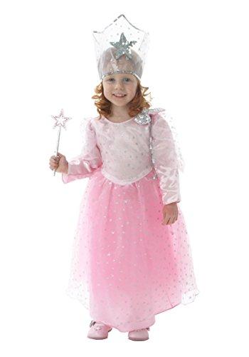[Deluxe Kids Glinda Costume Size 3] (Glinda Costume For Kids)