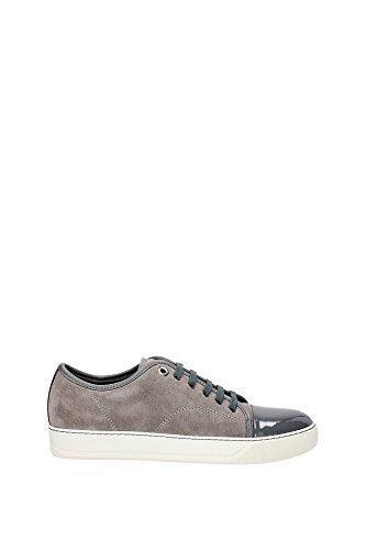 Sneakers Lanvin Uomo Camoscio Grigio FMSKDBB1VBALP1513 Grigio 40EU