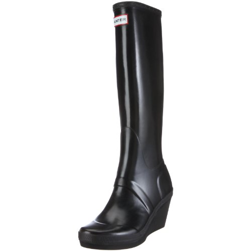 Hunter Women's Melrose Tall Black Wellington Boot W23795 8 UK