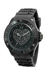 Ice-Watch Ice-Love Swarovski crystals Black Dial Women's watch #LO.BK.S.S.10