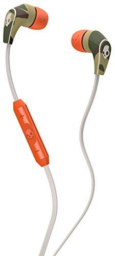 Skullcandy 50/50 Auricolari In-Ear con Microfono, Mimetico/Osso