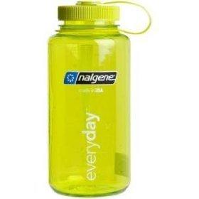 Nalgene 32Oz Tritan Wide Mouth Bottle Spring Green front-641901