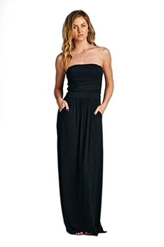 Vanilla-Bay-Solid-Pocket-Maxi-Dress