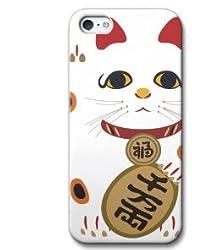 iPhone5 ケース iPhone5 カバー iPhone 5 ケース カバー (招猫) CollaBorn CB-I5-124