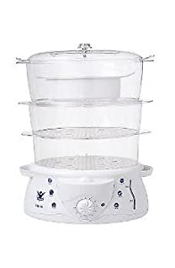 Biggest Loser 3 Tier 12.4 Quart Steamer & Rice Cooker in White by Biggest Loser