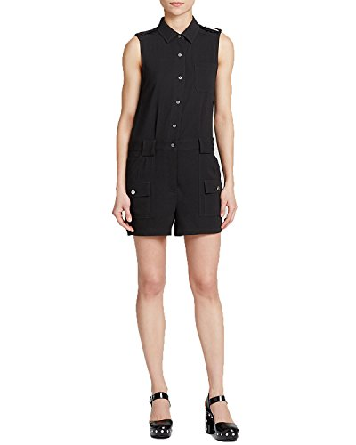 Marc by Marc Jacobs Womens Irving Crepe Romper