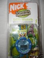 Buy Spongebob Squarepants Digital Watch & Interchangeable Figure Tops