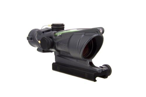 Acog Ta31-C-100378 Dual Illum Green Crosshair .223 Bac Reticle With Flattop Mount, 4X 32Mm, Sniper Grey