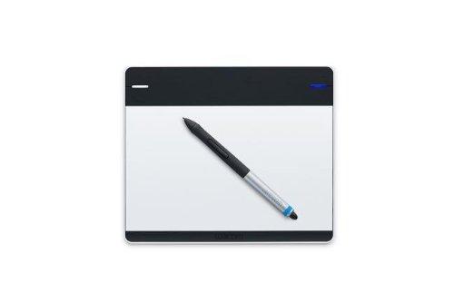 Wacom Intuos Creative Pen & Touch - Tableta gr�fica (l�piz inclu�do, Mac/Win, Precisi�n del l�piz 0.5), Negro/Gris