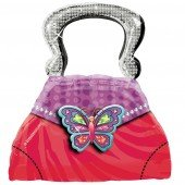 Glitzy Girl 28 Inch Purse Super Shape Balloon - Each