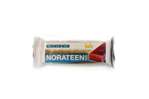 LA Muscle Norateen Bar (5 Bars) - Premium Protein Bar with added Creatine & Taurine - Perfect for Muscle Growth - Chocolate Flavour