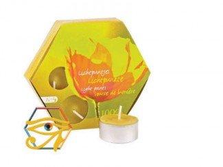 Beeswax Tea-lights (x7) TL7 by Dipam