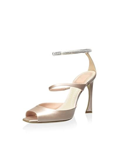 Christian Dior Women's Jewel Ankle Strap Sandal  [Nude]