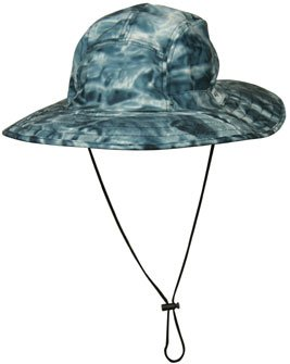 Aqua Design Mens Skyward Camouflage Sun Protection Boonie Sahara Fishing Hat by Aqua Design