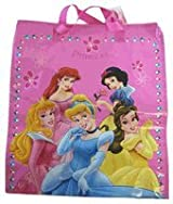 Disney Princess Tote Bag - Large Size Princess Woven Shooping Bag